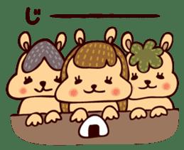 Squishy Squirrel sticker #5026269
