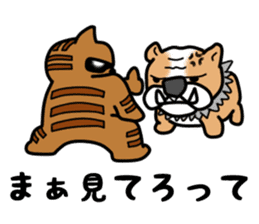 dandy and hardboiled cat sticker #5027514