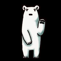 Ganbaresu of a Polar bear