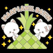 สติ๊กเกอร์ไลน์ Njun & Njel: Special Maap Lahil Batin