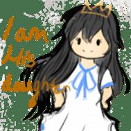 God's Beloved Daughter sticker #5035754