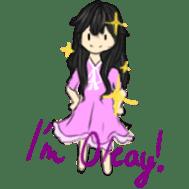 God's Beloved Daughter sticker #5035780