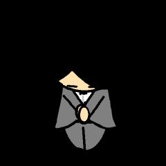 Small mustache butler