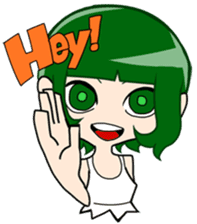 Cheer UP!!LOICX GIRLS sticker #5036006