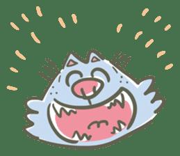 Bunta the cat sticker #5036791