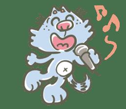 Bunta the cat sticker #5036817