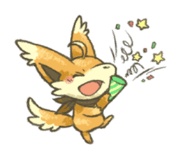 kitsunepun sticker #5037030