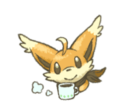kitsunepun sticker #5037032