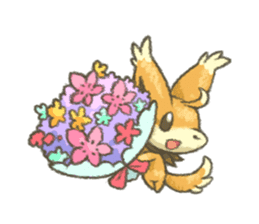 kitsunepun sticker #5037042