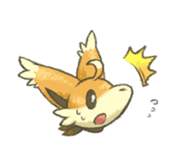 kitsunepun sticker #5037043