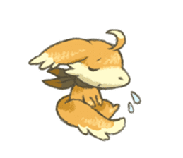 kitsunepun sticker #5037044