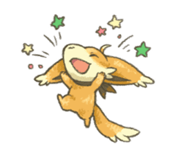kitsunepun sticker #5037055