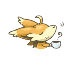 kitsunepun sticker #5037057