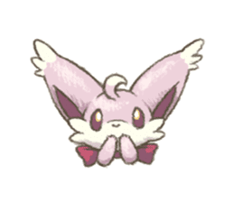 kitsunepun sticker #5037059