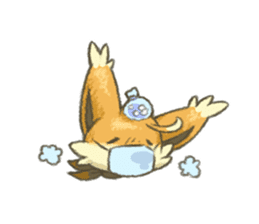 kitsunepun sticker #5037064