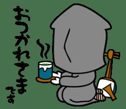 Awaji-ningyo characteres sticker #5038357