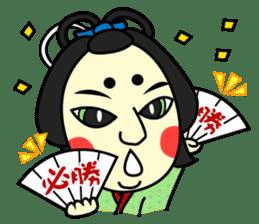 Awaji-ningyo characteres sticker #5038362