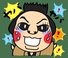 Awaji-ningyo characteres sticker #5038367