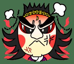 Awaji-ningyo characteres sticker #5038376