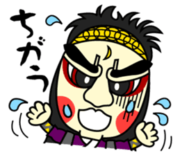 Awaji-ningyo characteres sticker #5038377