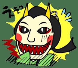 Awaji-ningyo characteres sticker #5038381