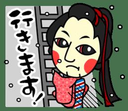 Awaji-ningyo characteres sticker #5038388