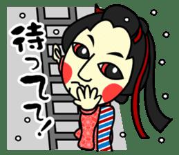 Awaji-ningyo characteres sticker #5038389