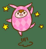 Good-luck PIGs sticker #5043151