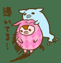 Good-luck PIGs sticker #5043152