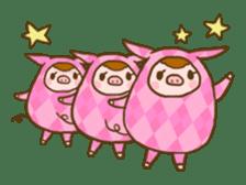 Good-luck PIGs sticker #5043158