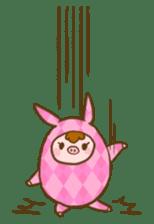 Good-luck PIGs sticker #5043161