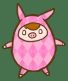 Good-luck PIGs sticker #5043164