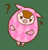 Good-luck PIGs sticker #5043166