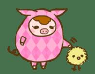 Good-luck PIGs sticker #5043170