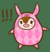 Good-luck PIGs sticker #5043175