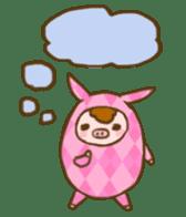 Good-luck PIGs sticker #5043178