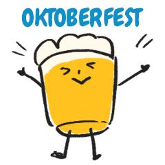 Oktoberfest Japan Original Sticker