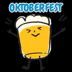 Oktoberfest Japan Original Sticker