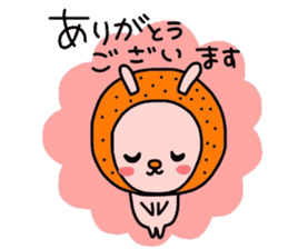 Rabbit & oranges vol3 sticker #5046750