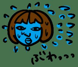 kawaii a life style sticker sticker #5048072