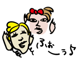 kawaii a life style sticker sticker #5048073
