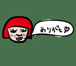kawaii a life style sticker sticker #5048076