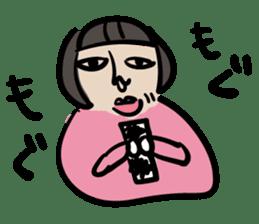 kawaii a life style sticker sticker #5048077