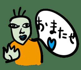 kawaii a life style sticker sticker #5048083