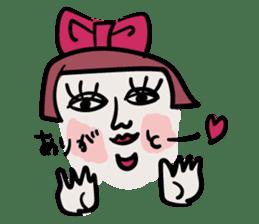 kawaii a life style sticker sticker #5048093