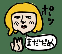 kawaii a life style sticker sticker #5048094