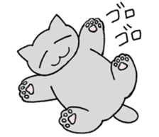 Daily life of Mr. cat sticker #5048304