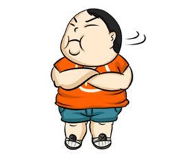 Fat Boy Mr.Moo sticker #5051279