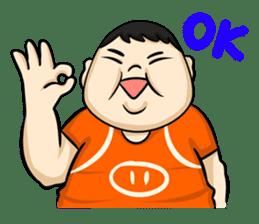 Fat Boy Mr.Moo sticker #5051288