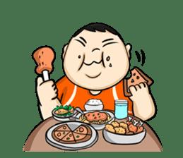Fat Boy Mr.Moo sticker #5051292